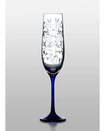 Набор бокалов для шампанского Bohemia Viola 2 шт. (06-03-190-2-047)