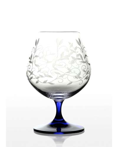 Набор бокалов для коньяка Bohemia Viola Lido кобальт (06-06-400-6-047)