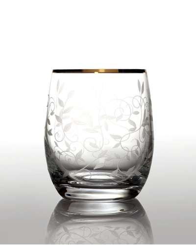 Набор стаканов для виски Bohemia Club Lido золото 6 шт. (09-08-300-6-019)