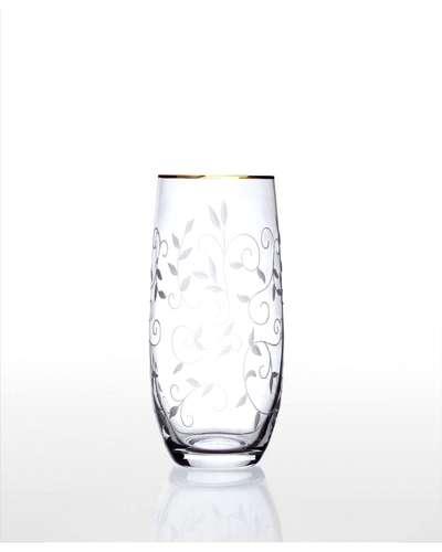 Набор стаканов для напитков Bohemia Club Lido золото (09-12-350-6-019)