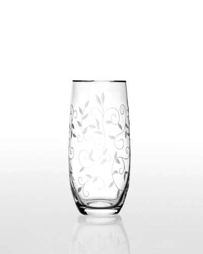 Набор стаканов для напитков Bohemia Club Lido платина (09-12-350-6-020)