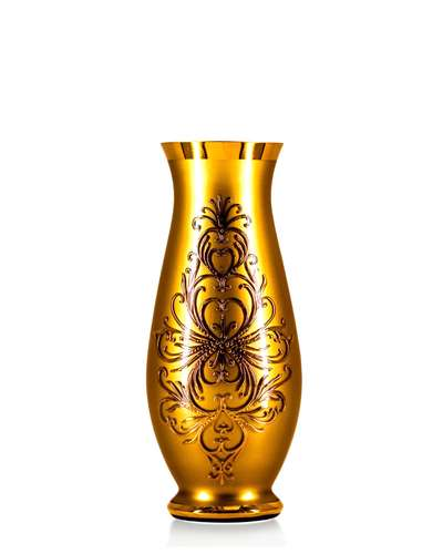 Ваза Bohemia Edera gold 35 см. (17-350-039)