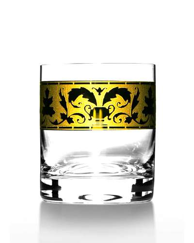 Набор стаканов для виски Bohemia Barline Rene золото (18-08-280-6-013)