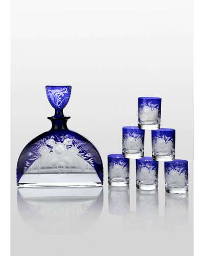 Набор для водки Prestige Nemo Cobalt Bohemia (0-072)
