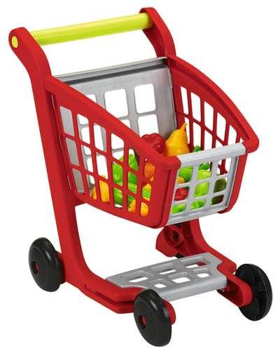Тележка для супермаркета с продукпами Ecoiffier (1225)