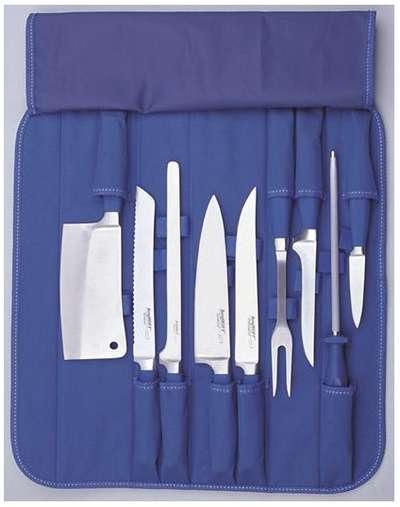 Набор ножей в синей нейлоновой сумке Berghoff 10 пр. (1309064)
