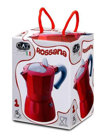Гейзерная кофеварка на 1 чашку Rossana GAT (103101) 78354