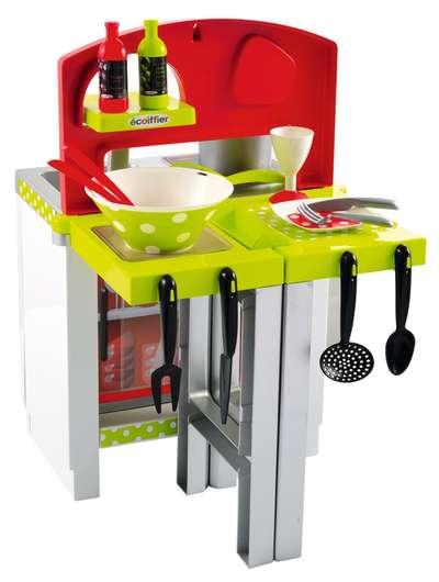 Кухня с раздвижными столешницами, посудой и аксессуарами Chef-Cook Ecoiffier (1739) 74438