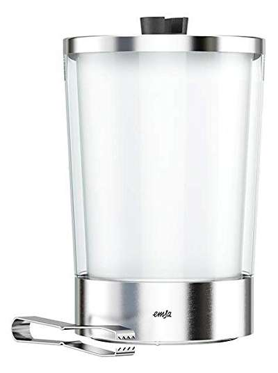 Ведро с щипцами для льда Flow Slim Emsa (EM514235)
