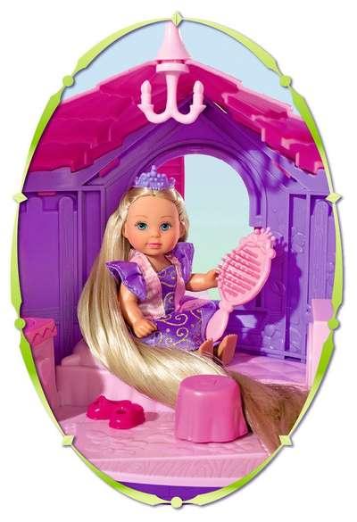 Кукольный набор Рапунцель в башне  Steffi & Evi Love (5731268) 74788