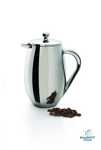 Поршневой заварник для кофе или чая с двойной стенкой Berghoff 0,75 л. (1106901)