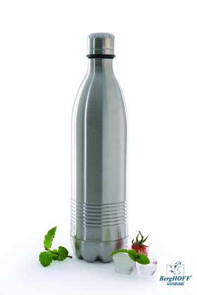 Бутылка металлическая с двойными стенками BergHOFF 1 л. (1106996) 66668