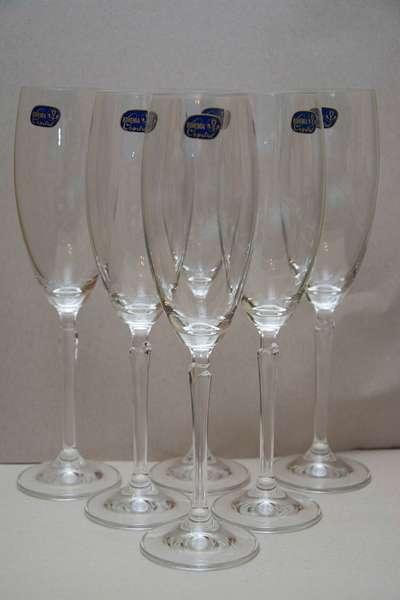 Бокалы для шампанского Bohemia Lily 220 мл. (40768-220) 63798