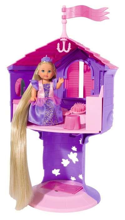 Кукольный набор Рапунцель в башне  Steffi & Evi Love (5731268)